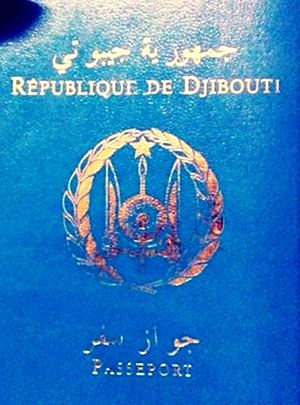 Visa requirements for Djiboutian citizens - A Djibouti passport