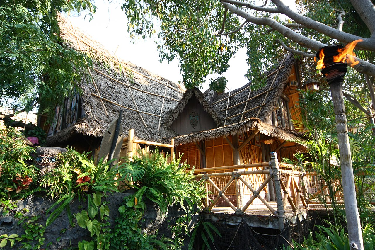 Enchanted Tiki Room, en Disneyland.
