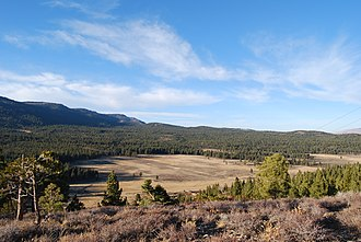 Reno, Nevada - Dog Valley, west of Reno, an area of active faulting
