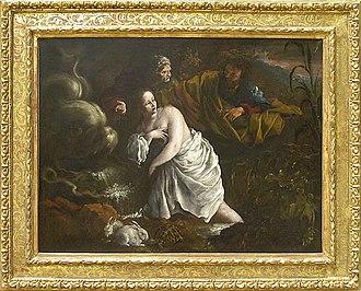 Domenico Guidobono - Susanna and the Elders