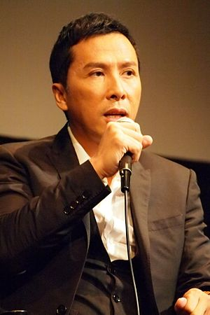 Donnie Yen - Yen at the New York Film festival in 2012