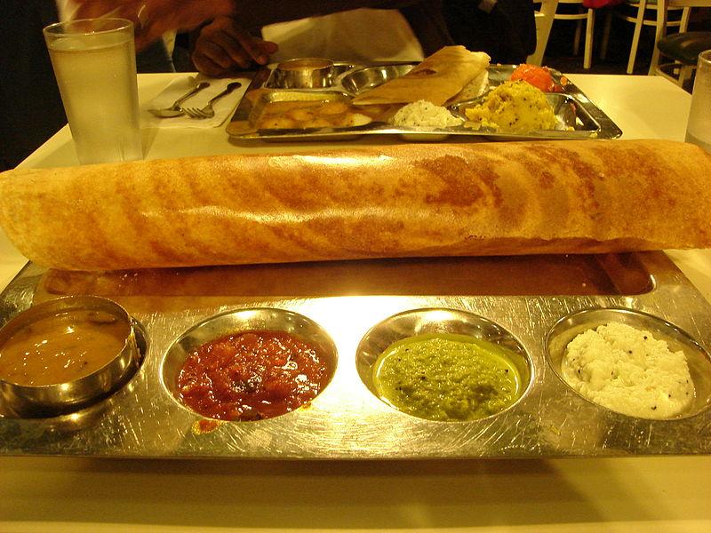 800px Dosai Chutney Hotel Saravana Bhavan