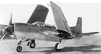 Douglas BTD Destroyer - Douglas BTD-1 Destroyer with folded wings