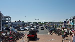Bethany Beach, Delaware - Garfield Parkway in downtown Bethany Beach