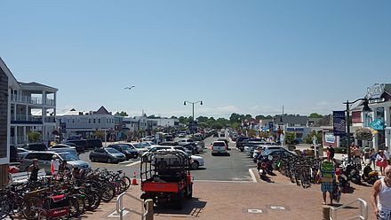 Garfield Parkway In Downtown Bethany Beach