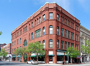 National Register of Historic Places listings in Bristol County, Massachusetts - Image: Downtown New Bedford MA