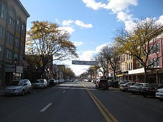 Stroudsburg, Pennsylvania - Image: Downtown Stroudsburg, Pennsylvania