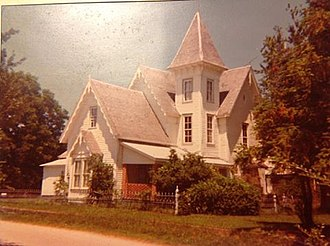 Draketown, Georgia - Dr. W.F. Goldin's house