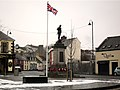 Dromore War Memorial in Winter - geograph.org.uk - 1719538.jpg