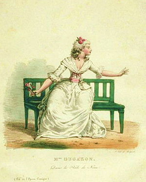 Nina (Dalayrac) - Dugazon in the title role