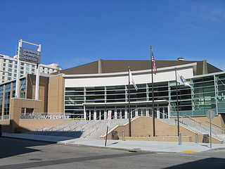 Dunkin Donuts Center architectural structure