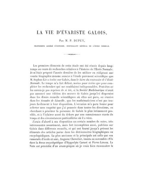 File:Dupuy - La vie d'Évariste Galois.djvu
