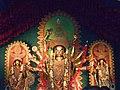 DurgaPuja2016 - Durga Idol of Bharat Chakra Dum Dum Park 02.jpg