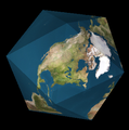 Dymaxion map folded.png