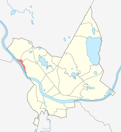 Location of Dzintari