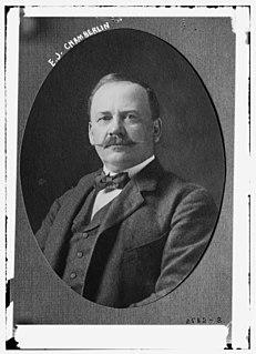 Edson Joseph Chamberlin Canadian railway executive