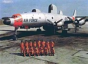 EC-121H Warning Star crew photo, serial number 551262