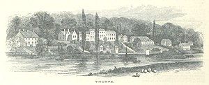Thorpe St Andrew - View of Thorpe in 1851