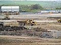 Earthmoving equipment on site of former Houghton Main Colliery. - geograph.org.uk - 493274.jpg