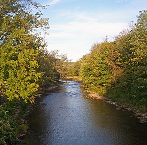 East Branch Delaware River - East Branch at Margaretville