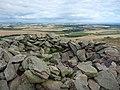 East Lothian Landscape, The Summit Cairn on Traprain Law - geograph.org.uk - 2002345.jpg