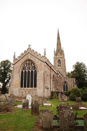 Moulton, Lincolnshire - Image: East Window geograph.org.uk 571765
