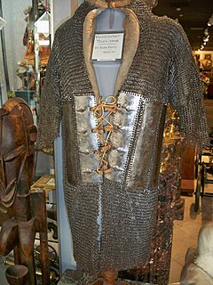 Chain mail Personal armour of metal links