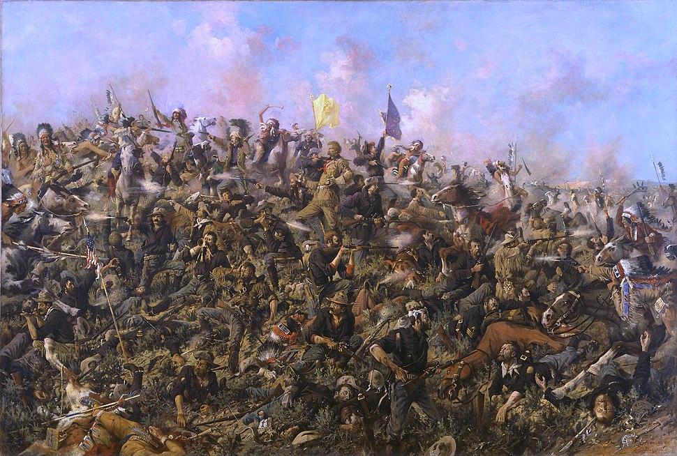 Edgar Samuel Paxson - Custer's Last Stand