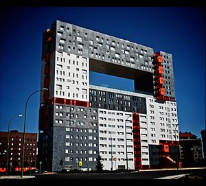 MVRDV - Mirador building (Madrid, Spain, 2005)