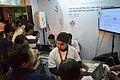Editing Wikipedia - Demonstration - Wikimedia Stall - 38th International Kolkata Book Fair - Milan Mela Complex - Kolkata 2014-02-07 8681.JPG