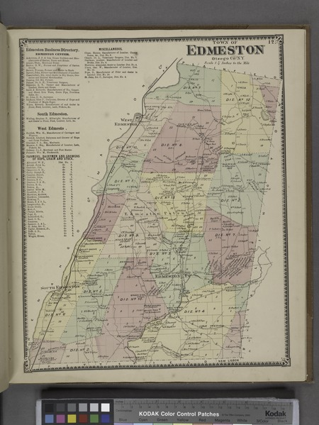 File:Edmeston Business Directory.; Town of Edmeston, Otsego Co. N.Y. (Township) NYPL1602747.tiff