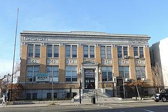 Bergen Section, Jersey City - Edmund Miller Library, formerly Bergen Branch