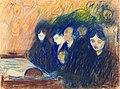 Edvard Munch - By the Deathbed, Fever.jpg