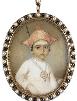 Kingdom of Coorg - Image: Edward Nash Portrait of Mooda Maji of Coorg