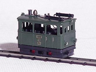HOn30 gauge - Egger-Bahn Steam Tram