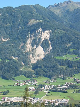 Schwaz - Image: Eiblschrofen near Schwaz b 2007