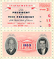 Eisenhower Inauguration ticket.jpg