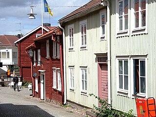 Eksjö Place in Småland, Sweden