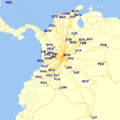 El Dorado international airport national destinations3.png