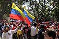 El pueblo venezolano acompañó los restos de su presidente Hugo Chávez Frías en la Academia Militar (8539056026).jpg