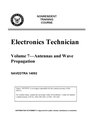 Electronics Technician - Volume 7 - Antennas and Wave Propagation - NAVEDTRA 14092.pdf
