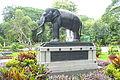 Elephant statue - Saigon Zoo and Botanical Gardens - Ho Chi Minh City, Vietnam - DSC01177.JPG