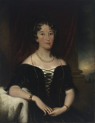 Elizabeth Macarthur - Elizabeth Macarthur: oil painting by an unknown artist; from the collection of the State Library of New South Wales