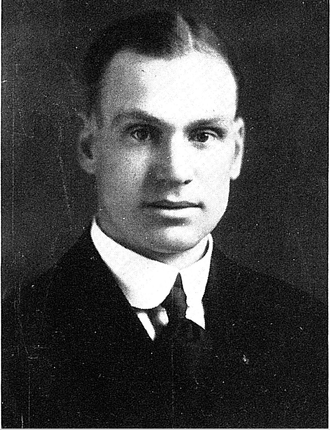 1917–18 Michigan Wolverines men's basketball team - Coach Elmer Mitchell.