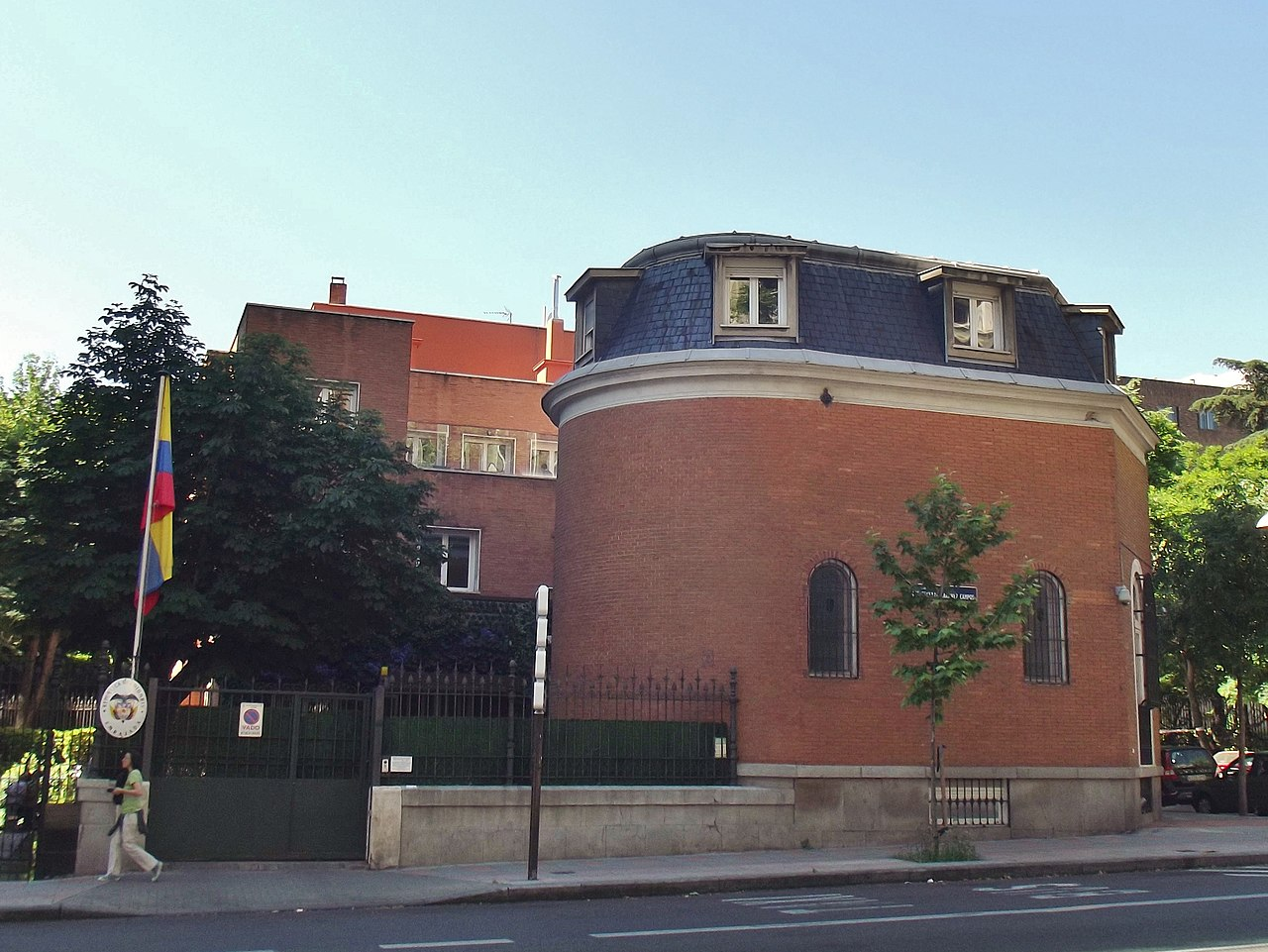 File:Embajada De Colombia, Madrid.JPG