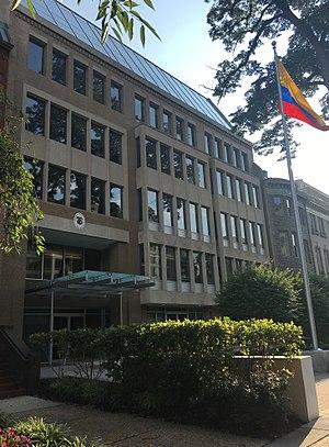 Embassy of Colombia, Washington, D.C. - Image: Embajada de Colombia, Washington D.C