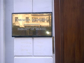 Embassy of Mexico, London - Image: Embassy of Mexico in London 2
