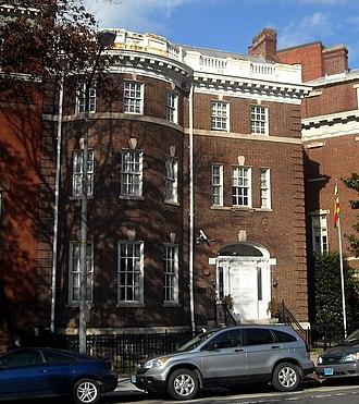 Embassy of Zimbabwe, Washington, D.C. - Image: Embassy of Zimbabwe Washington, D.C