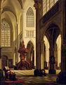 Emile P de Cauwer Kircheninterieur 1855.jpg