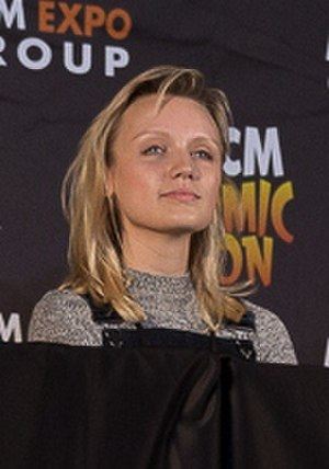 Emily Berrington - Berrington at the 2015 MCM London Comic Con